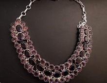 Load image into Gallery viewer, Amethyst collar