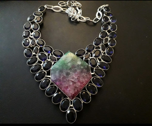 Amethyst and Rainbow Solar Quartz