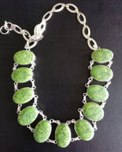 Load image into Gallery viewer, Green Turquoise necklace