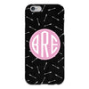 Arrows Black iPhone Case