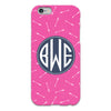 Arrows Hot Pink iPhone Case