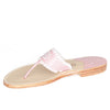 Aubrey Arbutus Monogram Sandals Side