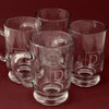 Monogram Beer Steins - Set 4