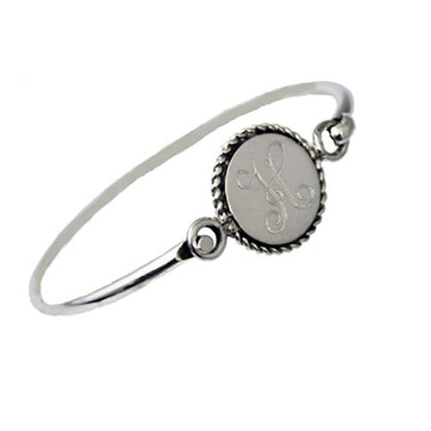 Monogram Latch Bracelet