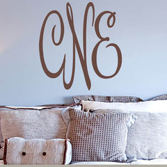 Christiines Monogram Decal