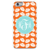 Pumpkins Clams iPhone Case