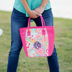 Paisley Cooler Tote