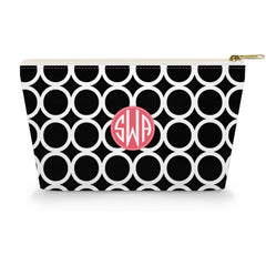 Cosmetic Bag - Hoopla Black