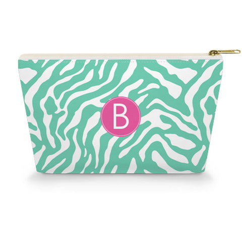 Monogram Makeup Bag - Zebra