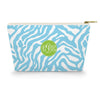 Monogram Cosmetic Bag - Zebra Sky