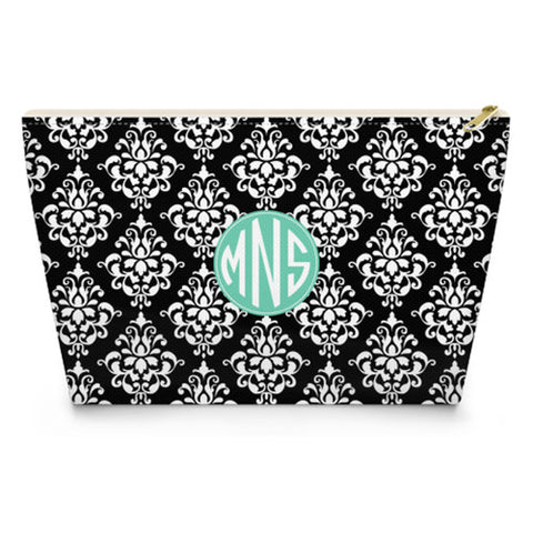 Monogram Makeup Bag - Damask