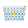 Diamonds Makeup Bag - Blue