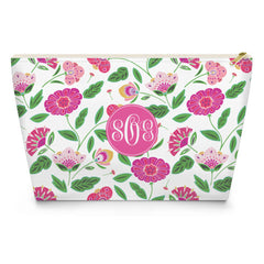 English Garden Makeup Bag - Pink