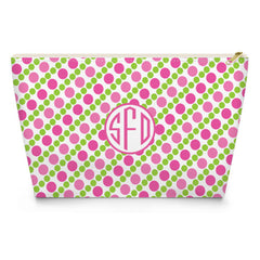 Pearls Makeup Bag - Pink