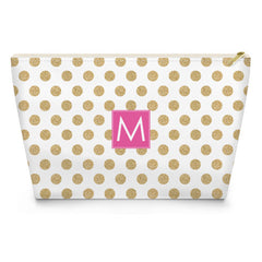 Makeup Bag - White