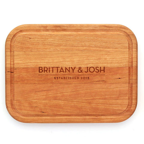 Personalized Cherry Cutting Board