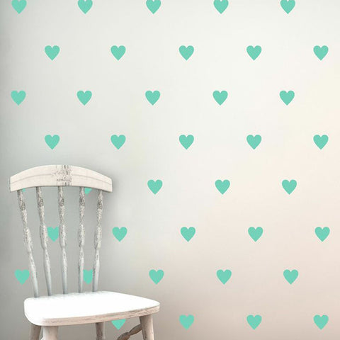 Lots of Hearts Decal