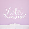 Violet Wall Decal