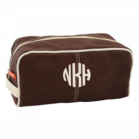 Brown Monogram Cosmetic Bag