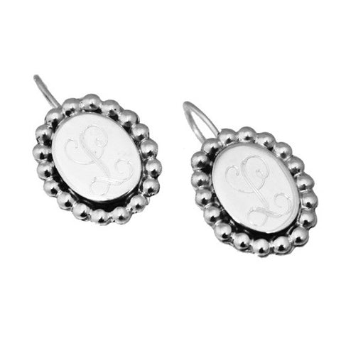 Sterling Silver Beaded Earrings