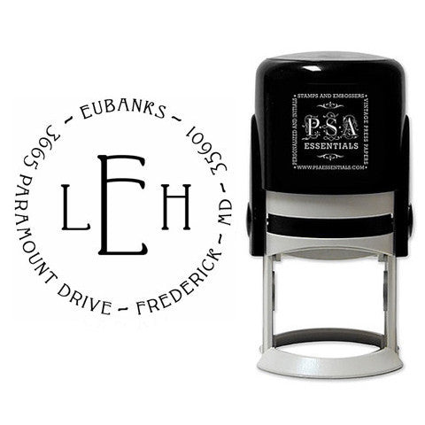 Personalized Eubanks Self Inking Stamper