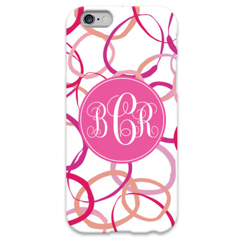 Monogram iPhone 5/5S Case - Fizzy