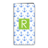 Anchors iPhone Folio - Cornflower