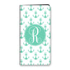 Anchors iPhone Folio - Mint