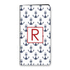 Anchors iPhone Folio - Navy