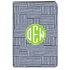 Collage iPad Folio Case - Navy