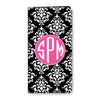 Damask iPhone Folio - Black