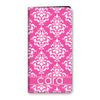 Damask iPhone Folio - Pink