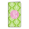 Damask iPhone Folio - Lime