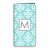 Damask iPhone Folio - Mint