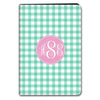 Gingham iPad Case - MInt
