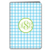 Gingham iPad Case - Sky