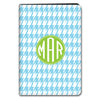 Houndstooth iPad Case - Sky