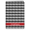 Houndstooth iPad Case - Black