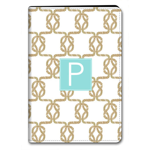 Monogram iPad Folio Case - Sailor Knot