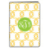 Knot iPad Folio Case - Yellow