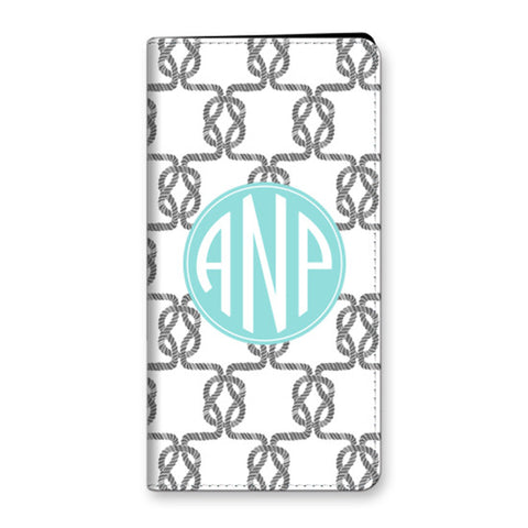 Monogram iPhone 6 Plus Folio Case - Knots