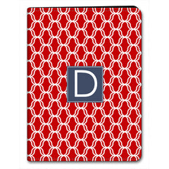 Lattice iPad Case - Red