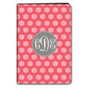 Stripe Dot iPad Case - Coral