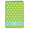 Stripe Dot iPad Case - Lime