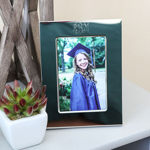 4x6 monogram picture frame