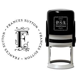 Personalized Frances Self Inking Stamper