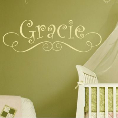 Little Gracie Monogram Decal