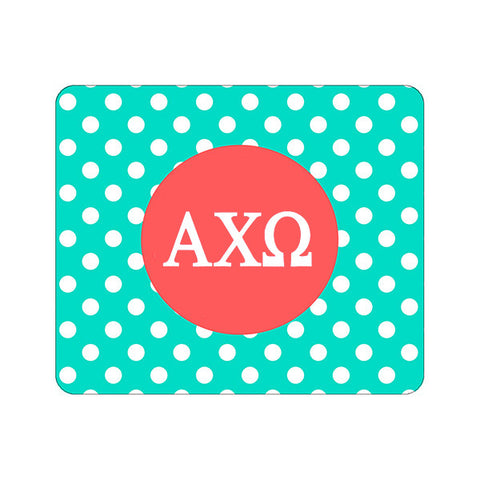 Sorority Greek Mouse Pad - Dot