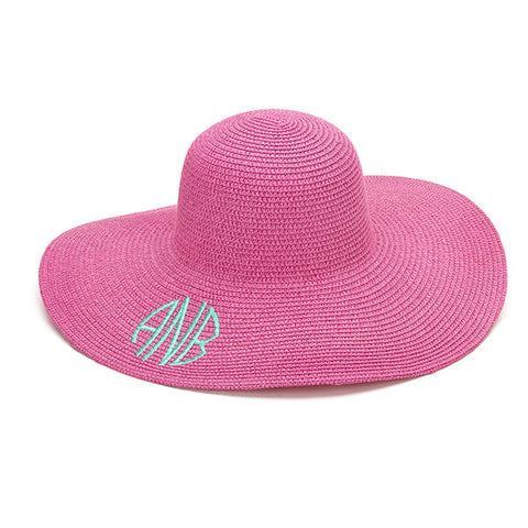 Hot Pink Floppy Hats