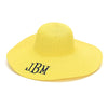 Yellow Floppy Beach Hat